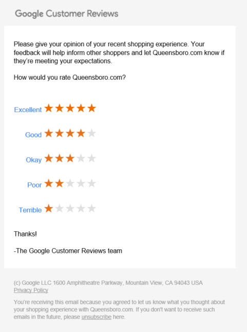 Google Requesting Reviews From Your Customers